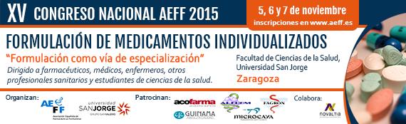 XV Congreso Nacional AEFF 2015